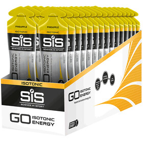 SiS GO Isotonic Energy Gel Box 30x60ml, Pineapple